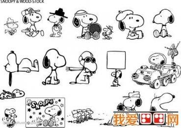 可爱简笔画欣赏 可爱的小动物简笔画 3