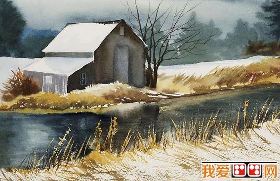 水彩画教程 学习水彩风景画的方法