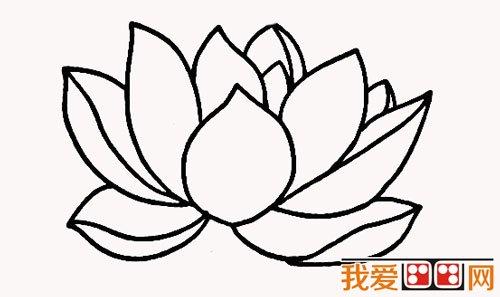 简笔画 > 小学生简笔画:荷花简笔画教程   荷花    荷花,又名莲花,水