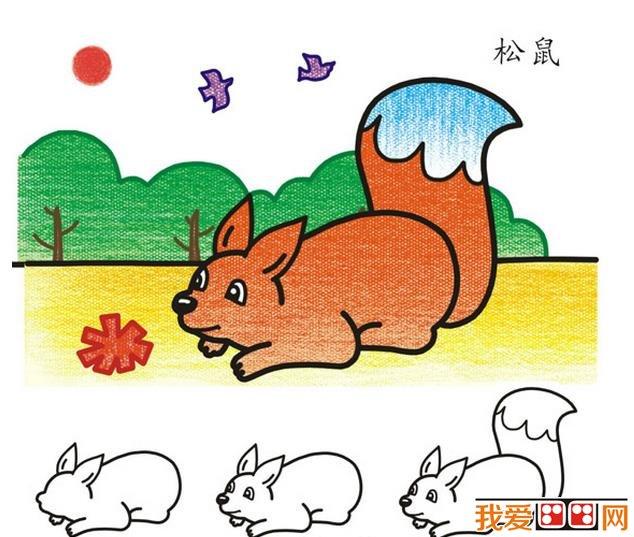 小猪头部简笔画 画法