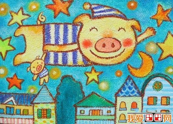 儿童学画画:儿童画的取材与创意从何而来图片