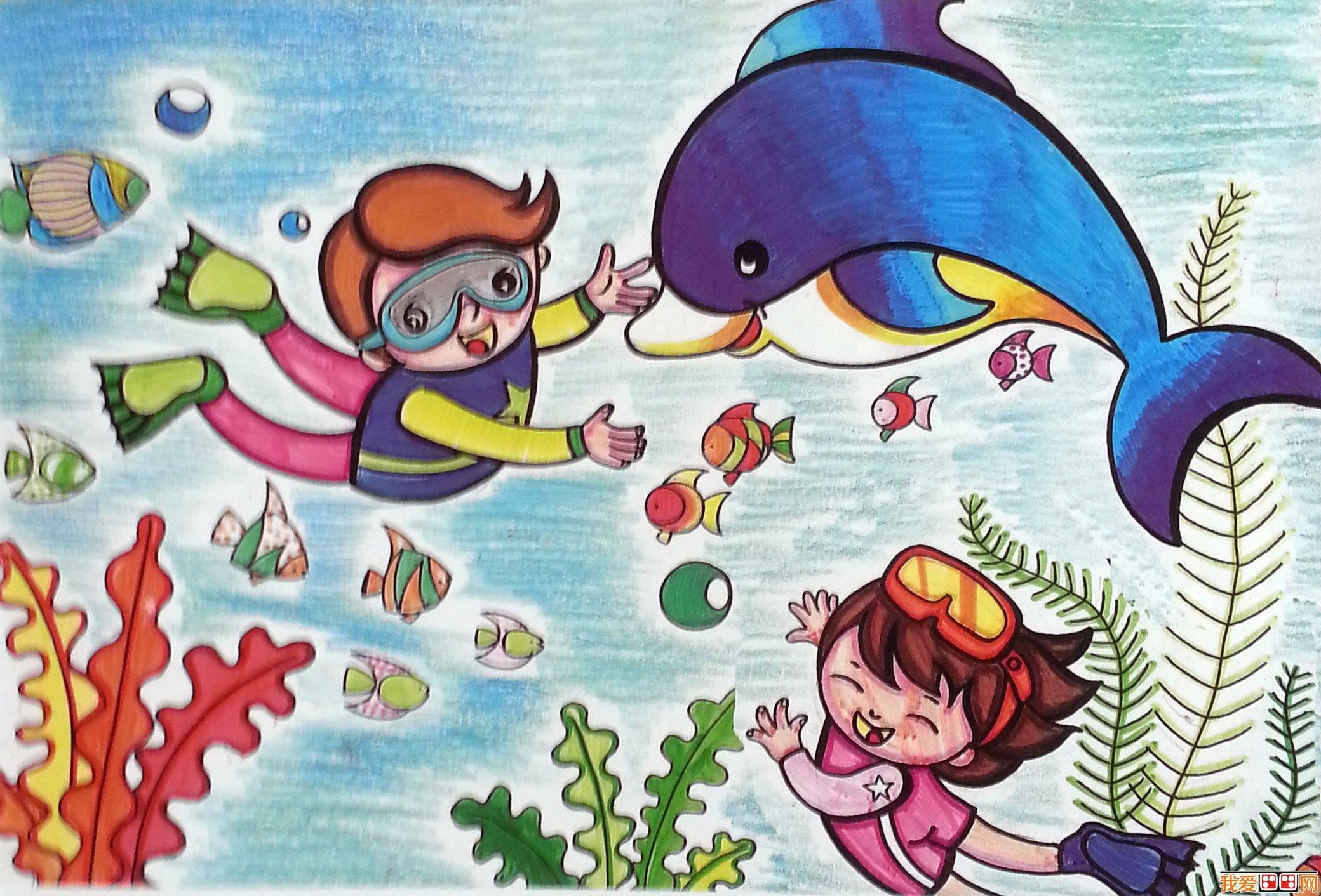 儿童学画画:儿童画的取材与创意从何而来