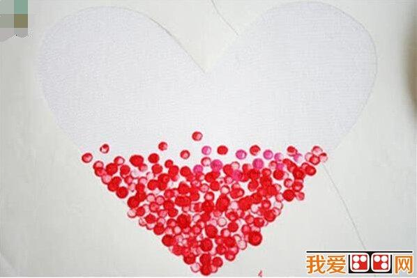 手工制作心形手绘环保袋教程_其他绘画教程_学画画_我