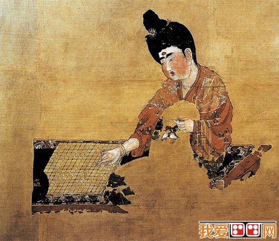古代人物画:流传的仕女图赏析(3)
