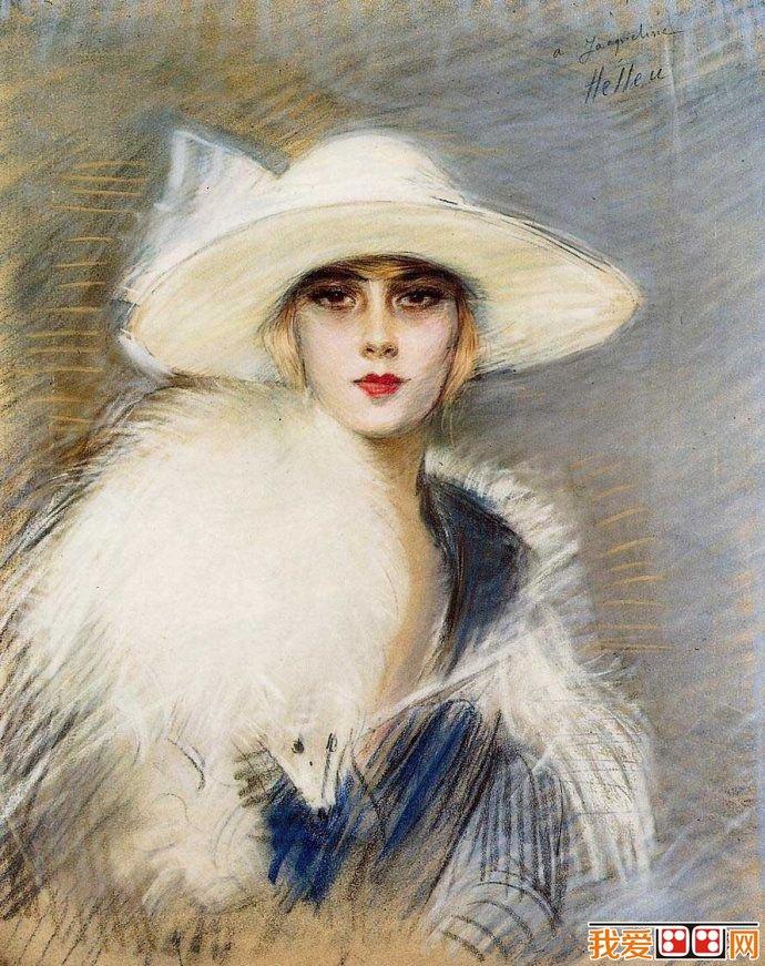 法国著名艺术家_世界著名肖像油画赏析(2)
