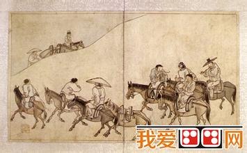 朝鲜三大风俗画家之一——金弘道图片