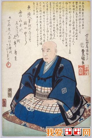 日本浮世绘代表画家歌川广重