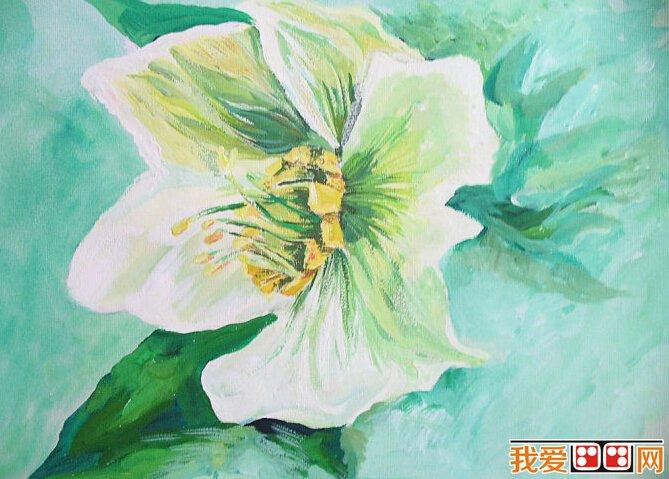 它与水彩画一样都使用水溶性颜料,颜料成分和透明水彩颜料相同.
