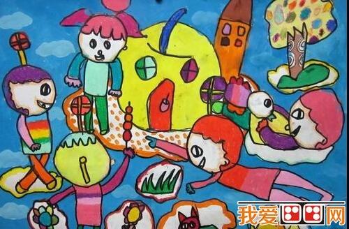 儿童科幻画 未来世界科幻画欣赏 2