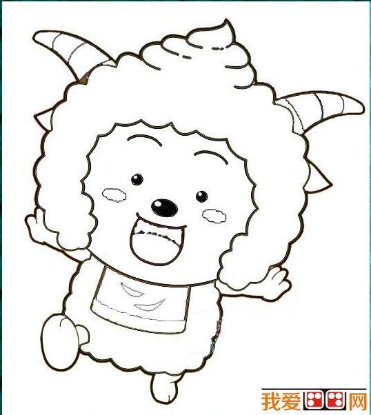 懒羊羊简笔画作品欣赏的全部内容,感兴趣的朋友请继续关注我爱画画网.