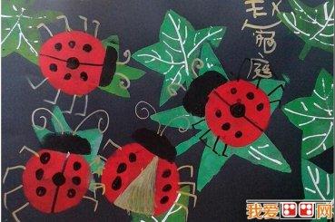 儿童水彩画:可爱的动物水彩画作品欣赏