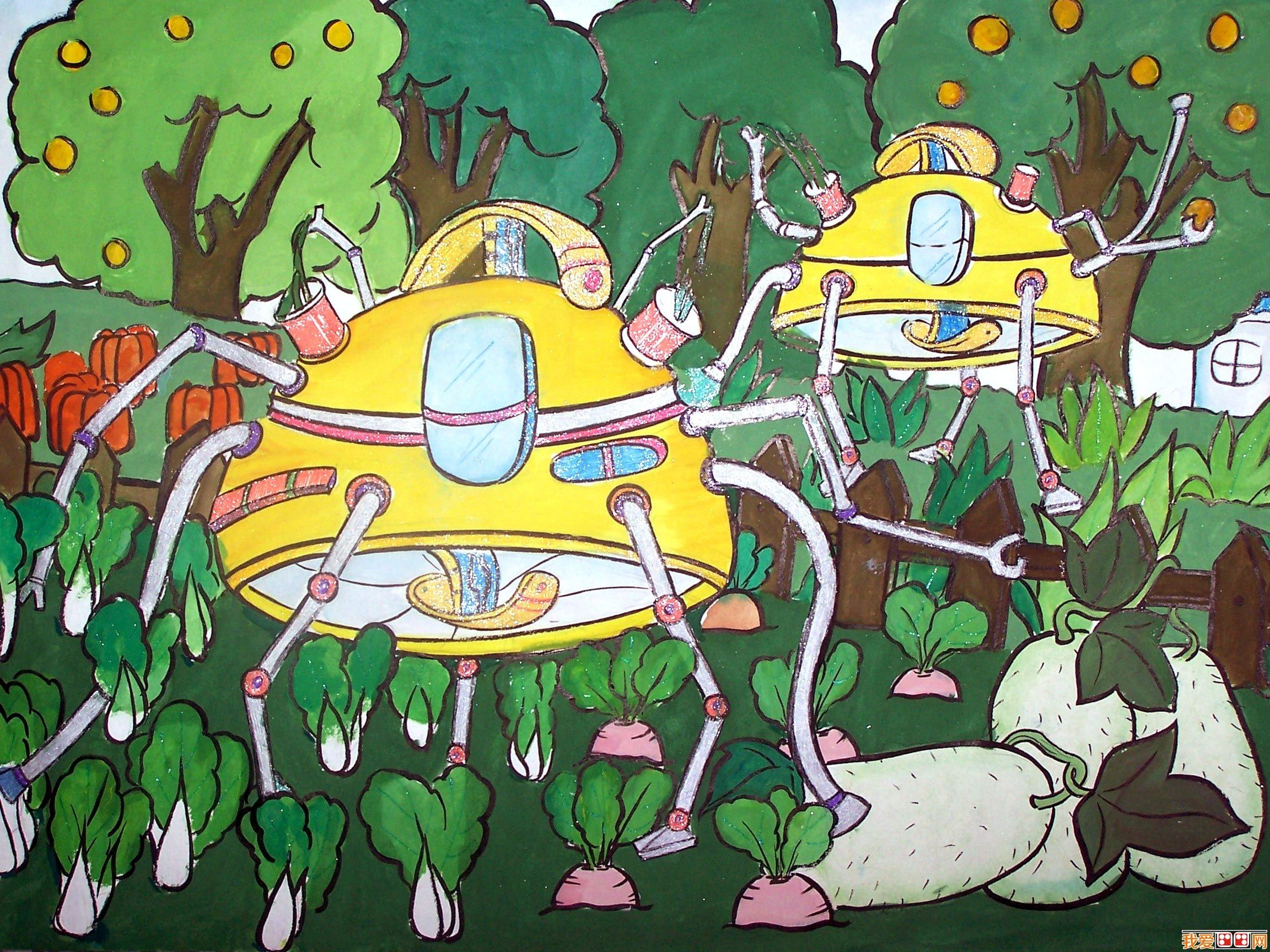 粉画 环保水粉画作品欣赏