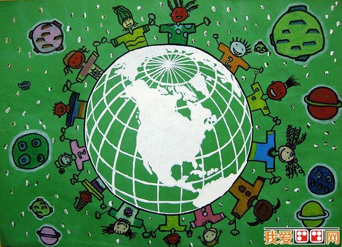 儿童水粉画:环保水粉画作品欣赏(3)