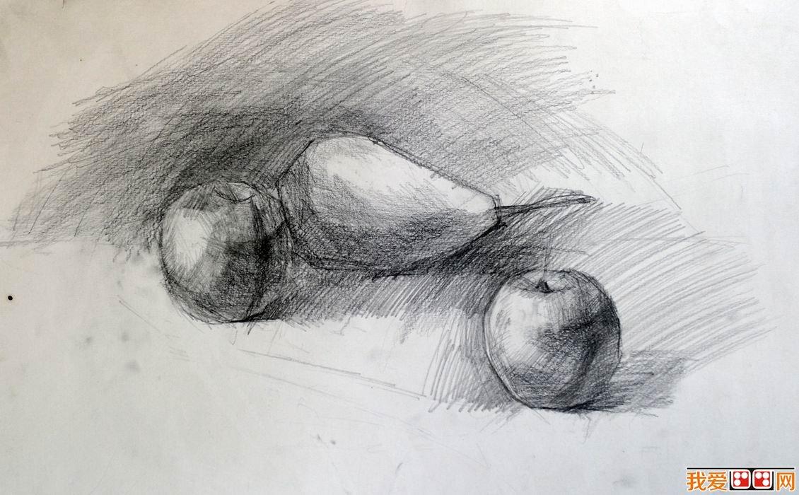 静物素描怎样画才能有美感?