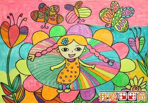 二年级孩子的画-幼儿学画画 如何读懂儿童画