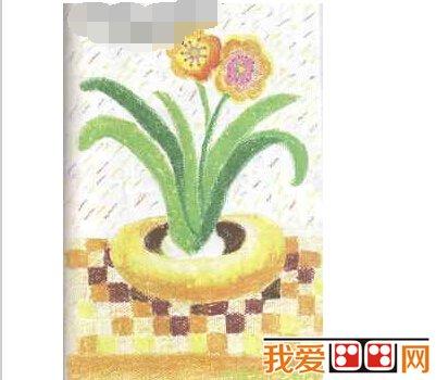 儿童学画画:水仙花绘画步骤教程