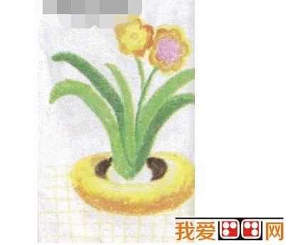 儿童学画画:水仙花绘画教程