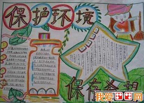 小学生手抄报:环保手抄报作品欣赏(2)