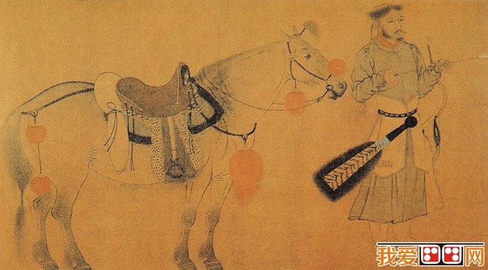 中国古代人物画赏析之二_中国名画_百科_我爱画画网
