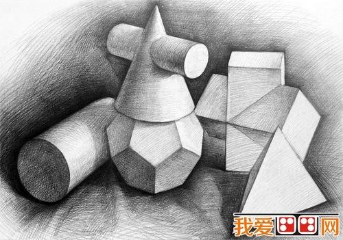 素描教程:静物素描中空间的构建