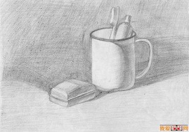 素描图片欣赏_素描作品_创意素描设计与教程_我爱画画