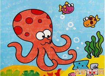 儿童学画画:油画棒技法介绍