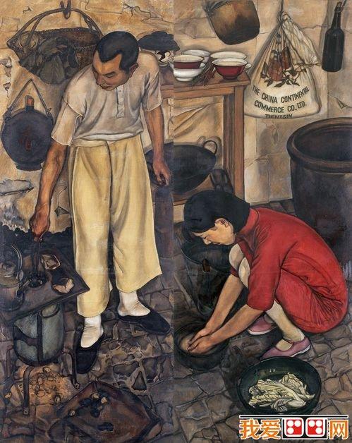 中国经典人物油画作品赏析之二(2)
