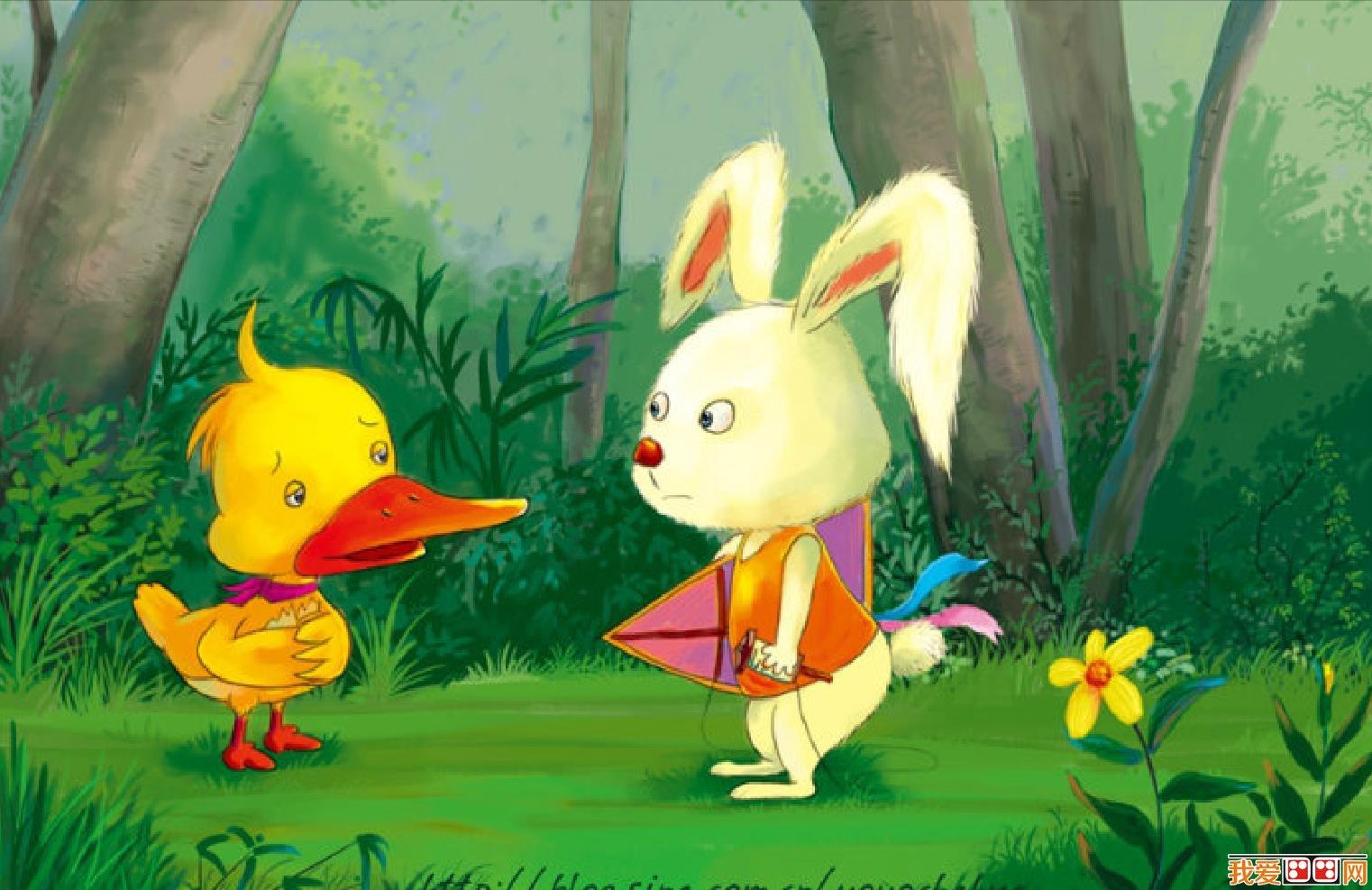 卡通画:可爱小动物插画欣赏(3)