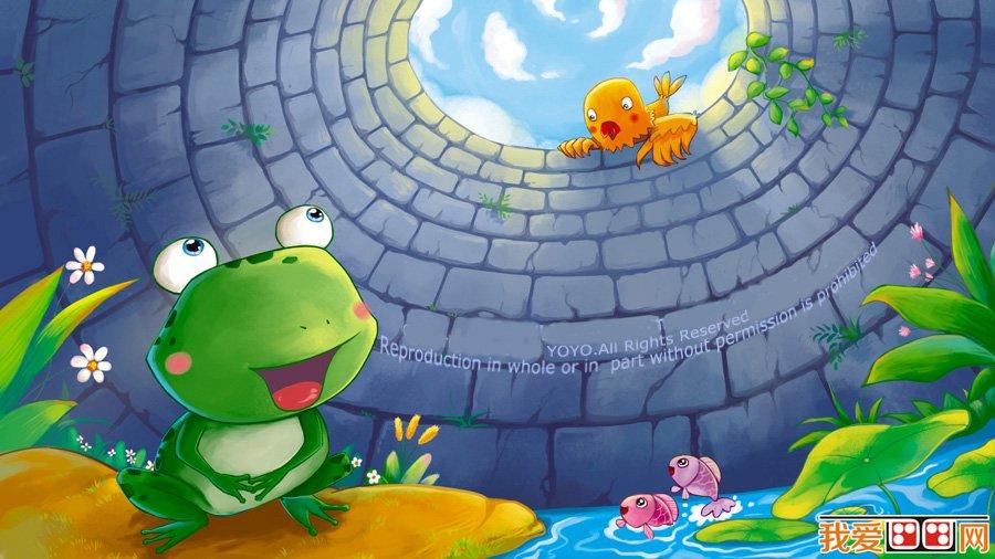 卡通画:可爱小动物插画欣赏(5)_儿童画教程_学画画_我