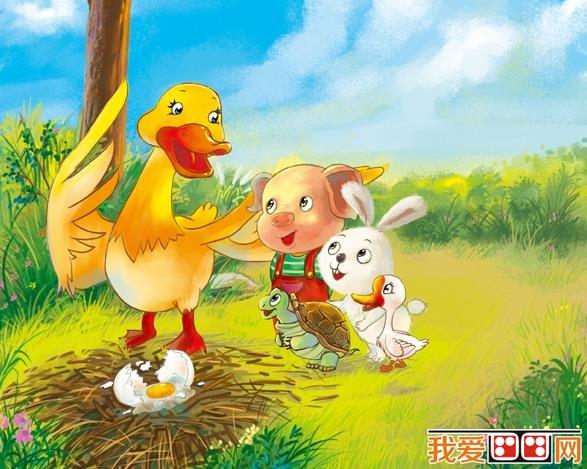 卡通画:可爱小动物插画欣赏(6)