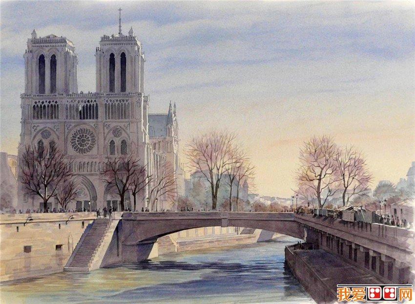 法国写实水彩画家蒂埃里.杜瓦尔作品赏析(8)