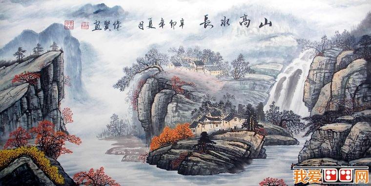 的着色方法。  国画教程:中国写意山水画的着色方法 山水画写生中以纯墨色来画的,就是水墨写生,亦可在水墨的基础上,待墨稿干后,根据画面需要着色。 最简便的着色方法是使用浅绛着色法。绛为红色,浅绛山水原是指以淡赭色为主调的传统山水画,后泛指在水墨的基础上浅着色的一种画法。当写生画墨稿完成以后,感到意犹不足,即可在其上着色来丰富画面的效果。写生画对色彩的要求,不强调景物条件色的变化,而以大面积平涂的装饰色为主,注重景物固有色,如树干用赭色,树叶用汁绿,石根用淡赭,石面即涂上墨青或汁绿、花青等。所使用的原料不外