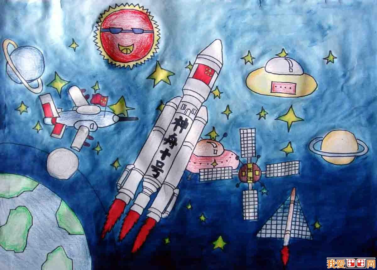 儿童画科幻画应该注意什么问题