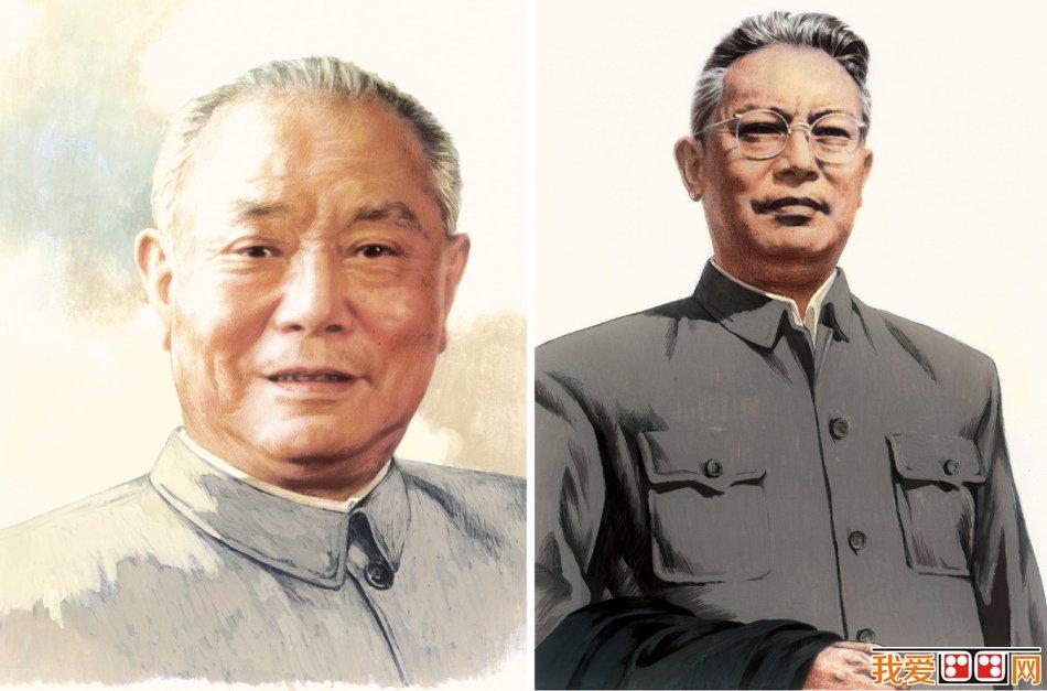 刘向平人物肖像画作品赏析(4)