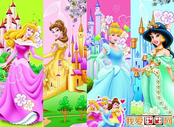 迪士尼公主卡通画欣赏