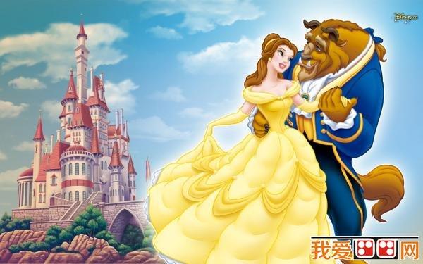 迪士尼公主卡通画欣赏(4)