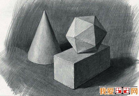 学画画 素描教程 素描知识 > 素描入门:如何准确地描绘物体的形体结构