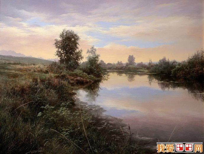 百科 世界名画 风景油画 > 乌克兰尤里喀拉刨柯油画作品赏析(2)
