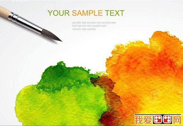 水彩画知识:水彩画如何控制颜料溶剂