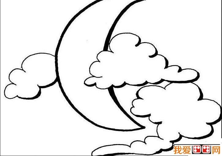 中秋节简笔画作品欣赏