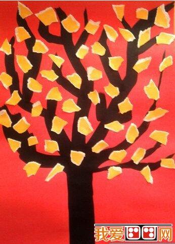 儿童手工DIY粘贴画作品欣赏 将不同颜色的卡纸剪成小碎片贴在树上,增加了立体感。  儿童手工DIY粘贴画作品欣赏 先画出海中背景,再将叠好的小船粘到画中,是不是显得立体生动了呢! 以上就是关于儿童手工DIY粘贴画作品欣赏的全部内容,感兴趣的朋友请继续关注我爱