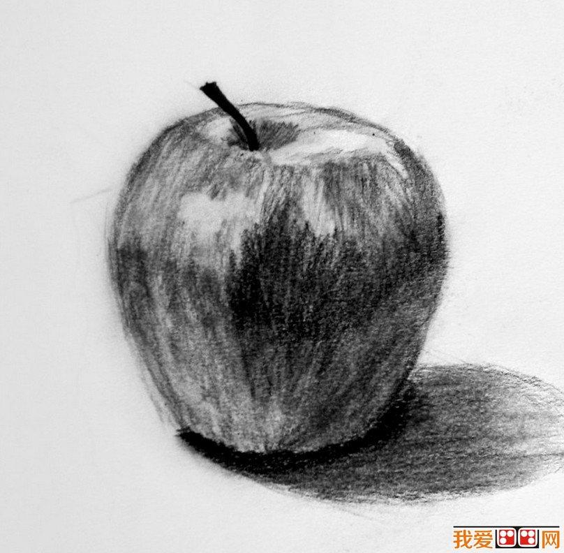 优秀的苹果素描作品欣赏