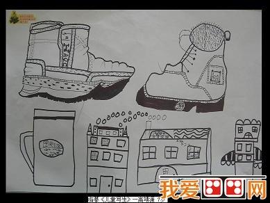 儿童生理结构图