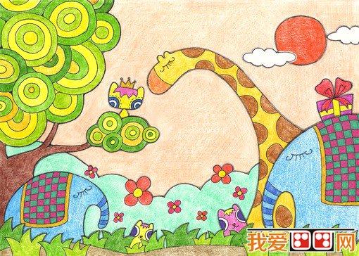幼儿学画画:如何提高幼儿学蜡笔画的兴趣(2)