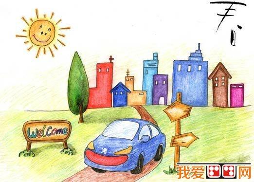 儿童学画画:彩色铅笔画基础知识(2)