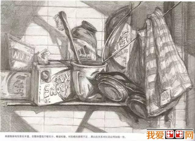 清华美院优秀设计素描作品欣赏(3)
