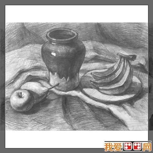静物素描及素描头像临摹的六种方法