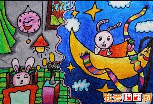 儿童画,让自然的想象力飞翔