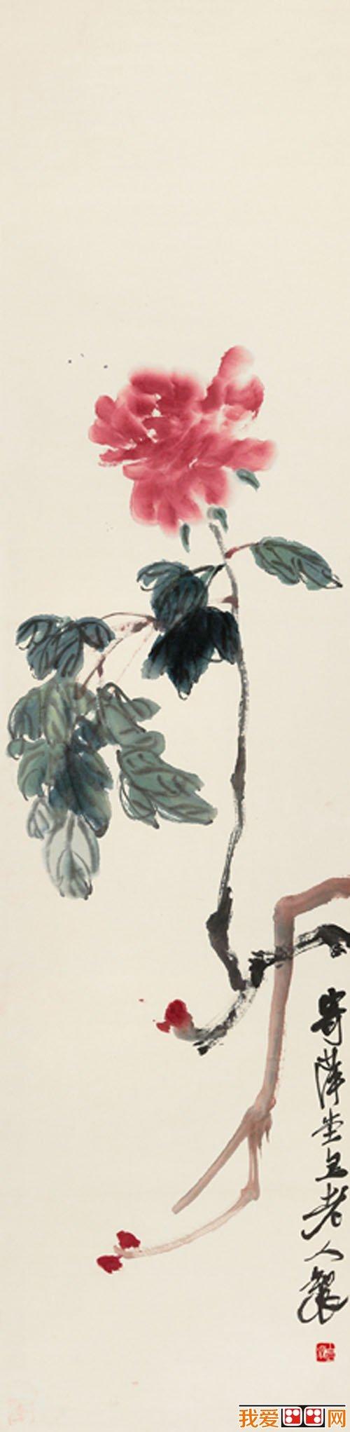 齐白石国画花卉作品赏析(5)