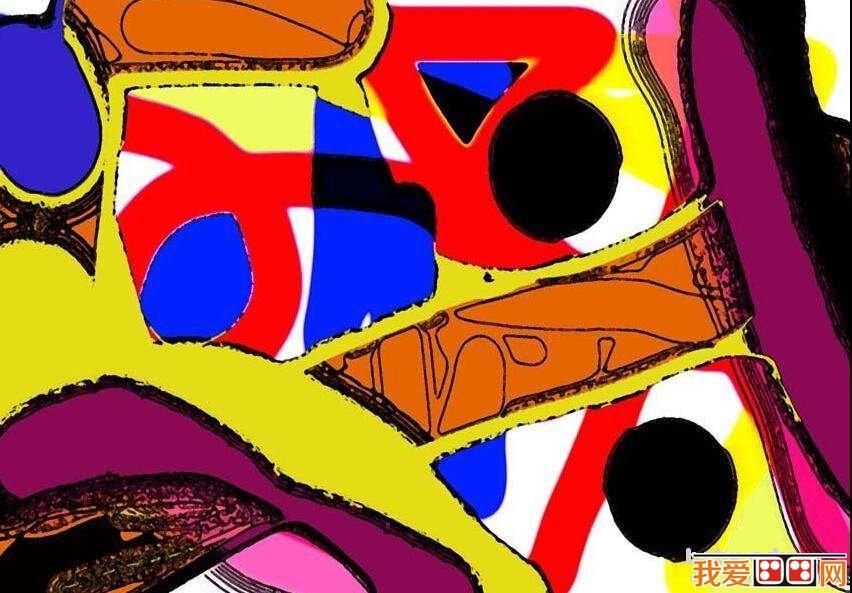 抽象派儿童画作品欣赏